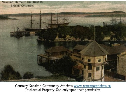nanaimo harbour and bastion