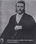 Ole Hemmingson ca 1880
