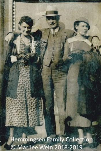 MattMargMarieHemmingsen 1933 Chicago